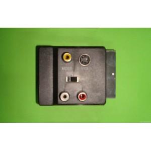 Adaptador Euroconector RCA Audio Video