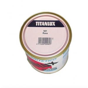 ESMALTE TITANLUX ROSA 750ml